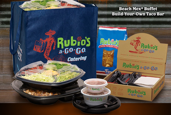 Beach Mex® Buffet Build-Your-Own Taco Bar